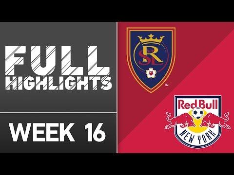 Real Salt Lake vs New York Red Bulls | June 22, 2016