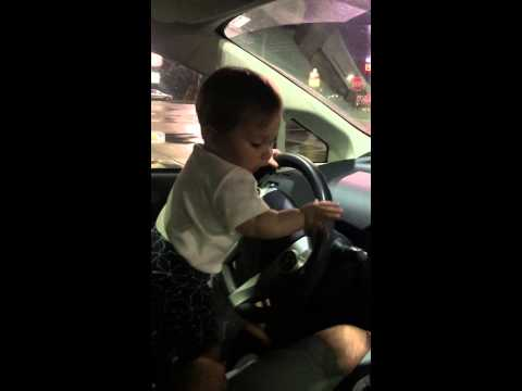 [Baby with road rage] Video