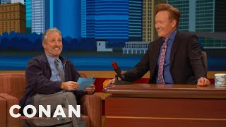 Download Lagu Jon Stewart Gives Conan The NYC Citizenship Test  - CONAN on TBS Gratis Mp3 Pedia