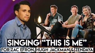"Download Lagu Singing ""This Is Me"" for Zac Efron, Hugh Jackman & Zendaya (from The Greatest Showman Movie) Gratis STAFABAND"
