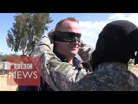 BBC goes inside Gaza tunnels - BBC News
