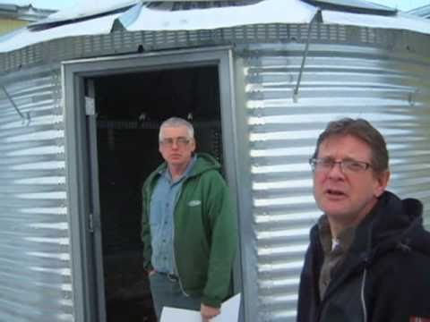 Haiti Relief Fund Received Donation of Grain Bin Houses for Haiti