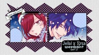 [Jerza] Joy! Cheer! Christmas! Speedpaint (Part 1)