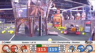 FRC Houston Championship - Einstein 1