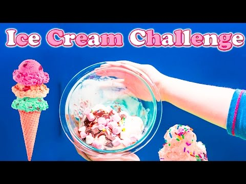 ICE CREAM Contest with the Assistant How to Make a Ice Cream Sundae