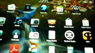 How to Install Android apps on a Blackberry Playbook