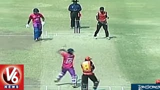 Adilabad Tigers Wins On Nalgonda Lions by 1 Run | Telangana T-20 League Round 3