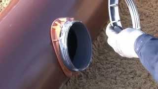 Funke Kunststoffe - Erstellung eines nachträglichen Hausanschlusses DN/OD 160