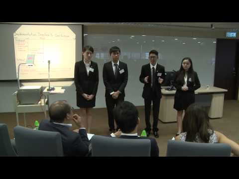 HSBC / HKU Asia Pacific Business Case Competition 2015 Round 3B2 The Hong Kong Polytechnic