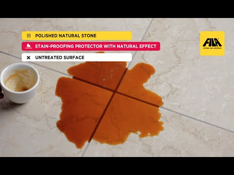 How to Clean and Seal Marble and Polished Stone with FILAMP90 ECO PLUS | D.I.Y. (en)
