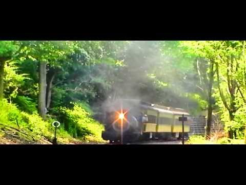 On the last day of its visit to the Railroad Museum of New England/Naugatuck Railroad in 2013, Lehigh Valley Coal #126 leaves the Thomaston station with its ...