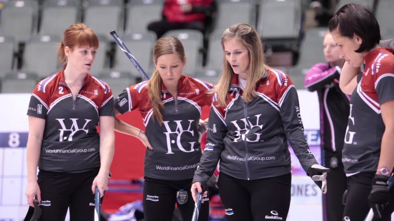 Jones Curling Team Far From Home Curling Team