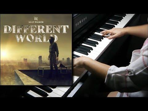 Alan Walker - Different World Ft Sofia Carson, CORSAK, K-391 (Piano Cover)