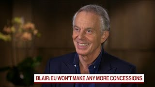 Final Say on Brexit Should Be With the British People, Tony Blair Says