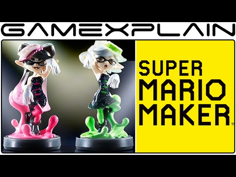 Squid Sisters Costumes Found in Super Mario Maker (Callie and Marie)