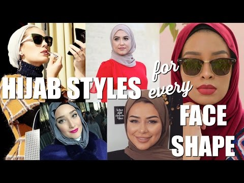 Hijab Styles For Every Face Shape Feat. Hijabi Bloggers - YouTube