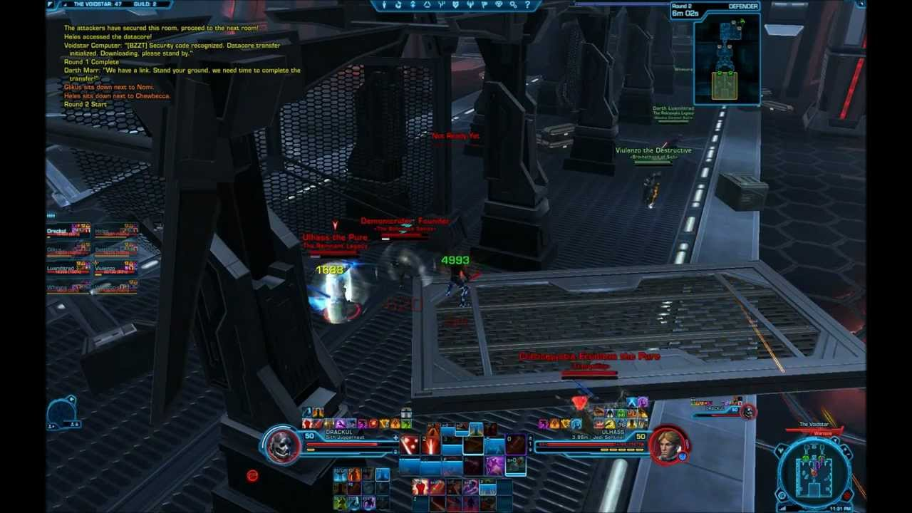how to play vengence jug in swtor 5.7