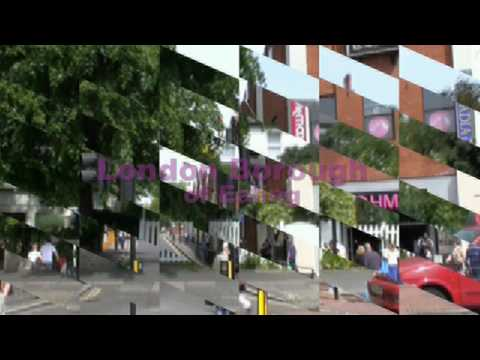 Ealing London City Borough Parts Polish Immigrants Town Suburb Place UK by BK Bazhe.com