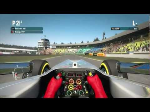 F1 2012 - Drivers Home Circuits #6 - Michael Schumacher/Nico Rosberg - setup+cockpit cam+no assists