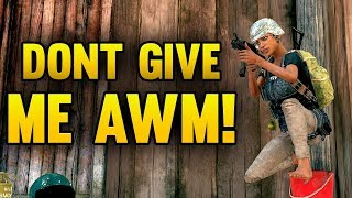 If I Get An AWM, I Should Win - PUBG Sanhok