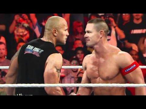 Download  Raw: John Cena calls out The Rock and issues a WrestleMania Gratis, download lagu terbaru