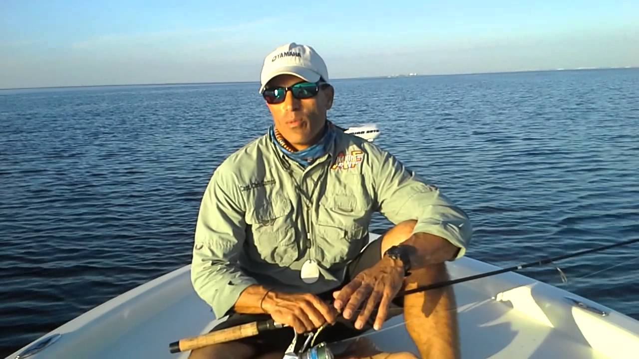 1 16 13 upper tampa bay fishing report capt chris for Tampa bay fishing reports