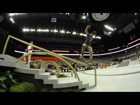 Street League 2012: Sean Malto Championship Practice Quick Clip