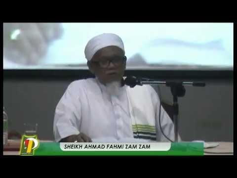 16 01 2015 Sheikh Ahmad Fahmi Zam Zam video
