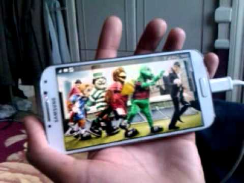Samsung Galaxy S4 Green Screen freeze! Part 1 of 3