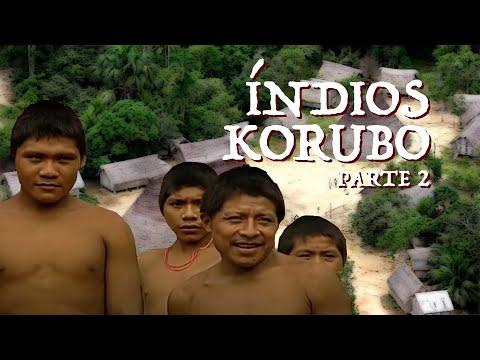 Viagens pela Amazônia   Índios Korubos   Parte 2