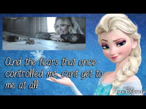 Demi Lovato & Martina Stoessel - Let it go / Libre soy MASHUP - Lyrics / Letra