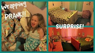 MOM PRANK: ROOM PRESENT OPENING SURPRISE!! WHAT?!? | beingmommywithstyle
