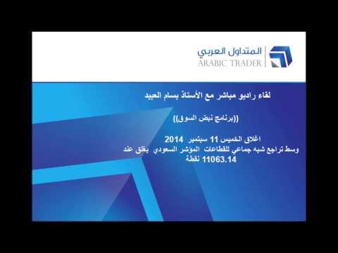 لقاء راديو مباشر مع الأستاذ بسام العبيد تراجع شبه جماعي للقطاعات واغلاق المؤشر السعودي