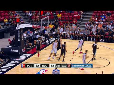 Summer League: Portland Trailblazers vs Houston Rockets