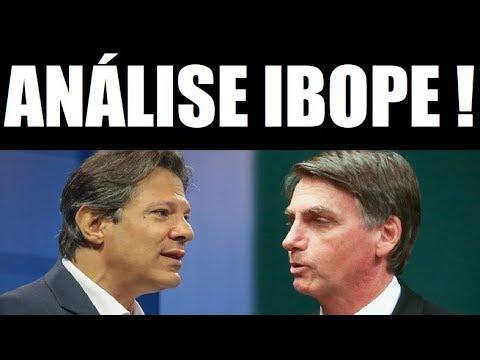 🔴 NOVA PESQUISA IBOPE PARA PRESIDENTE DO BRASIL ! Análise Completa por Sexo, idade e região