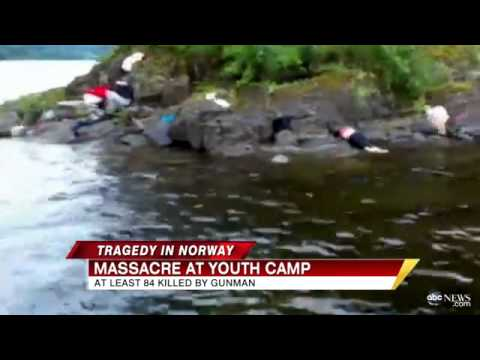 !!'PARADISE' TURNED TO HELL-90 KILLED AT NORWAY YOUTH CAMP!!