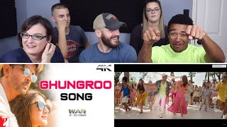 Ghungroo Song REACTION! | War | Hrithik Roshan, Vaani Kapoor | Vishal and Shekhar ft, Arijit Singh