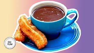 Anna Makes Churros And Spanish Hot Chocolate!   Anna Olson Archives