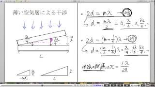 高校物理解説講義:「光の干渉」講義19