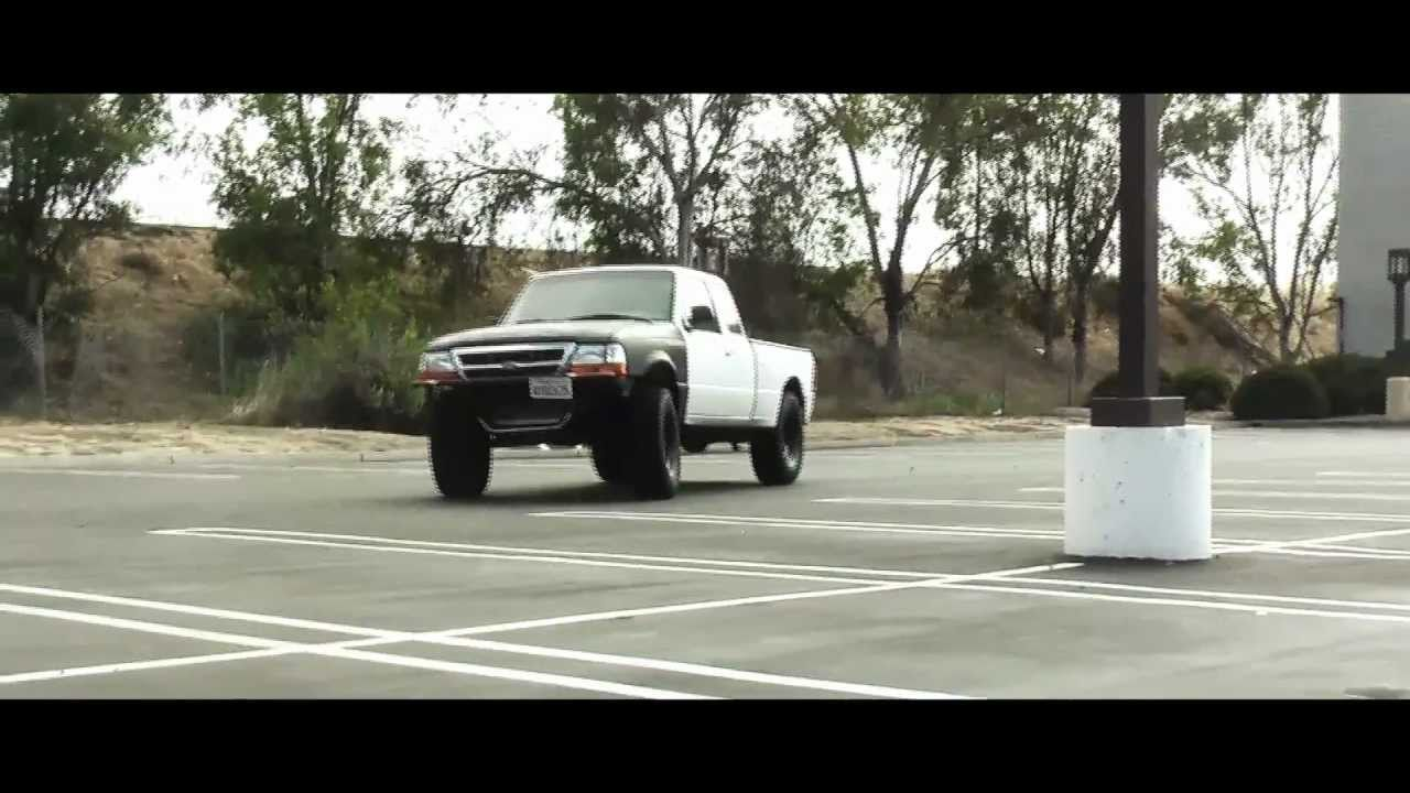 Inch Lift >> 1998 Ford Ranger Lifted - Before and After - YouTube
