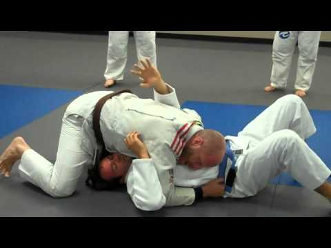 Jay-Jitsu BJJ: North South - chokes basic (baseball bat) Image 1