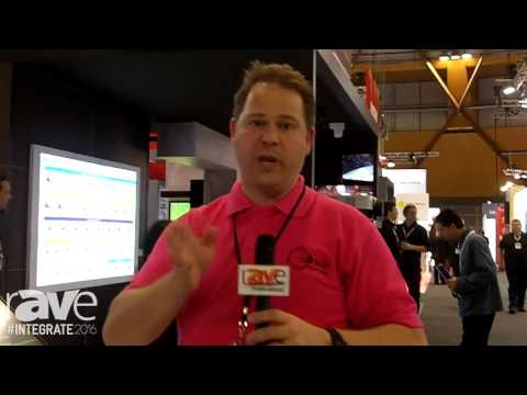 Integrate 2016: tvONE Demos CORIOmaster Video Wall Processor on the Corsair Stand