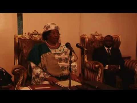 Joyce Banda Press Briefing