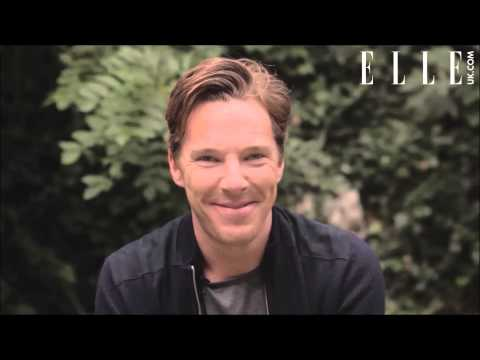 Benedict Cumberbatch for ELLE UK -  Behind the cover shoot + Q&A