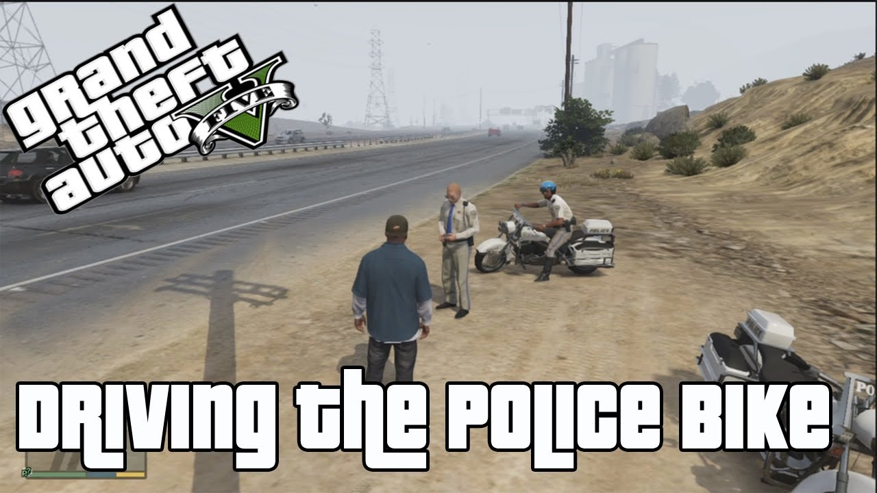 Bikes Vs Police GTA V Driving the Police