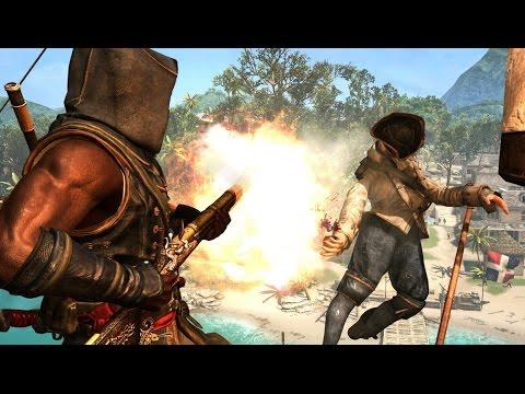 Assassin's Creed Freedom Cry Shotgun Multi Kill Montage