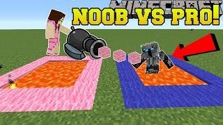 Minecraft: NOOB VS PRO!!! - PopularMMOs Mini-Game Challenge - Mini-Game