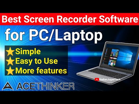 Best Screen Recorder Software for PC/ Laptop (Windows/Mac) | Simple Easy to Use Screen Recorder