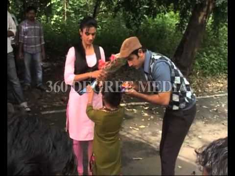 Hitler Didi on Zee TV -Ranbeer Kapoor shoots for during promotion...