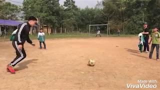 Kỹ thuật đá xoáy má trong của Quang Hải U23 Việt nam